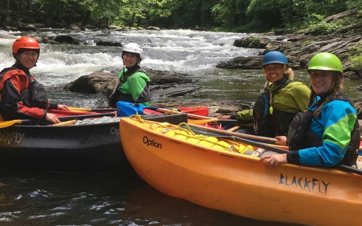 gap year whitewater adventure program