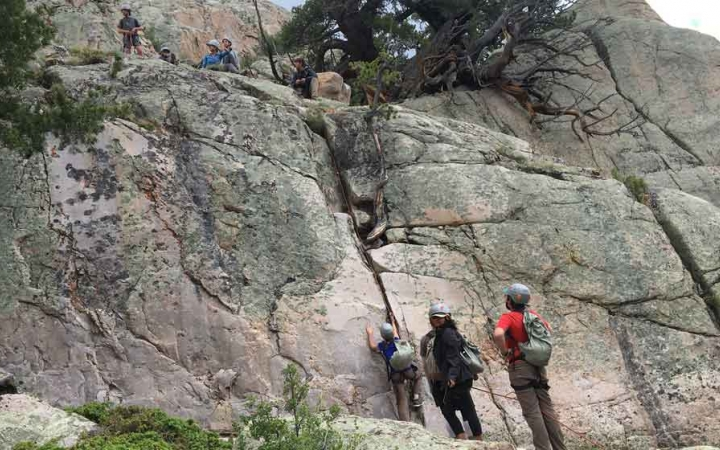 adults only outdoor adventure program in colorado