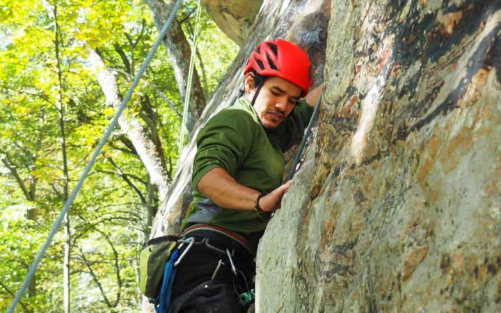 gap year rock climbing semester