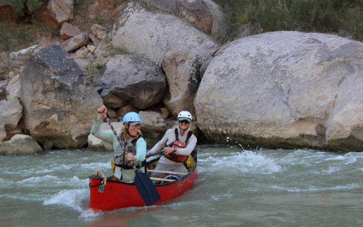 texas big bend canoeing adventure trip for young adults