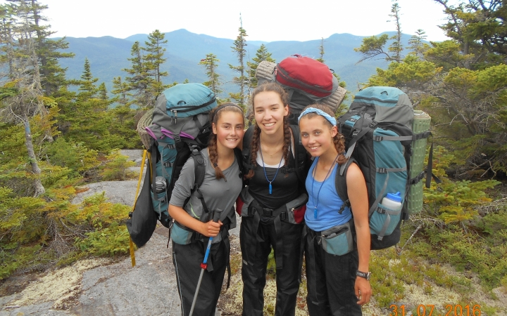backpacking camp for teens